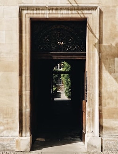 Oxford `College Doorway St Peter's Tutors will open doors for your child's education.
