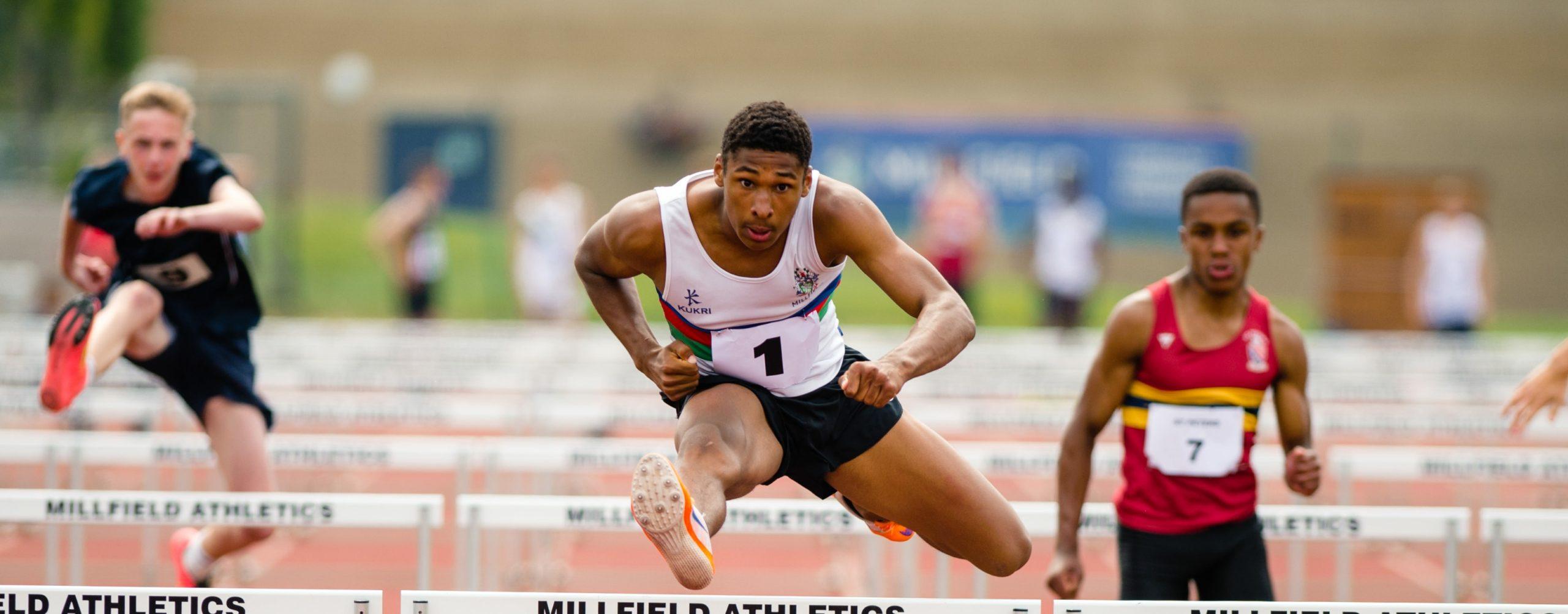 Millfield hurdles